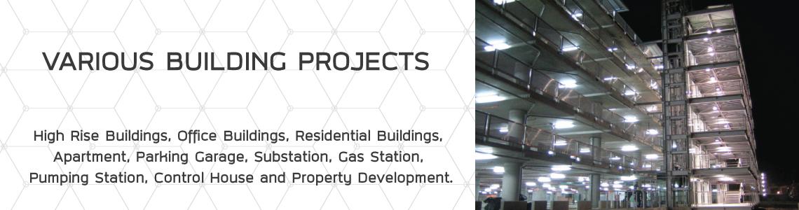 โครงการอาคารประเภทต่างๆ